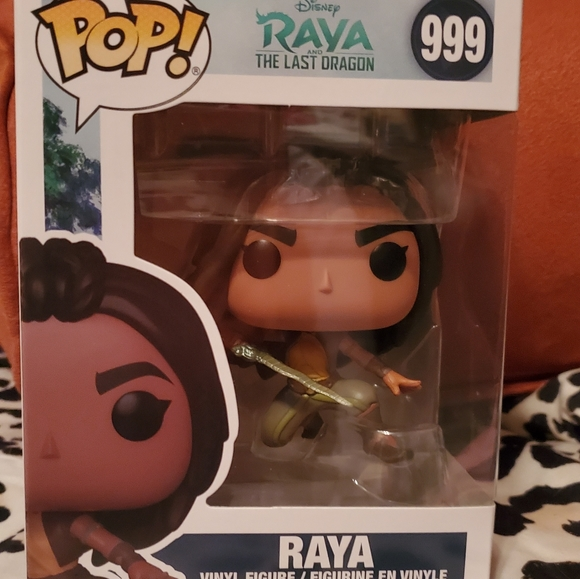 Disney Rava The Last Dragon Funko #999 Rare